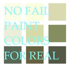 What is the Best Palette for No Fail Paint Colors? - laurel home
