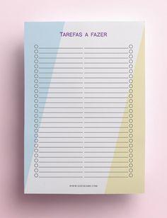 Planner 2019 | Que se Faça Planner 2018, Year Planner, Trip Planner, Study Planner, Monthly Planner, Planner Pages, Life Planner, Printable Planner, Planner Stickers