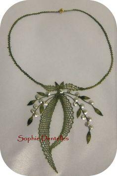 Lace Bracelet, Lace Necklace, Lace Jewelry, Wedding Jewelry, Romanian Lace, Bobbin Lacemaking, Crochet Patron, Fabric Ornaments, Art Necklaces