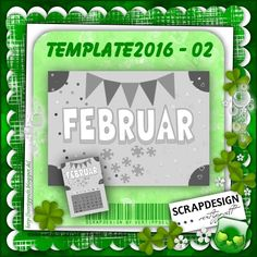 Template für Februar