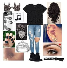 """""""mixed"""" by katyahernandez ❤ liked on Polyvore featuring Abercrombie & Fitch, Converse, Samsung and Happy Plugs"""