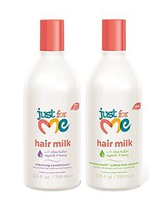 Just for Me Shampoo and Conditioner Set 13.5oz by Just For Me ** This is an Amazon Affiliate link. You can find more details by visiting the image link.