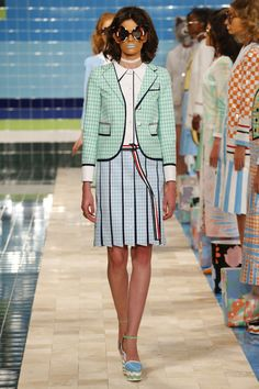 Thom Browne | Ready-to-Wear Spring 2017 | Look 4_1950s/Trompe L'Oeil/Conceptual