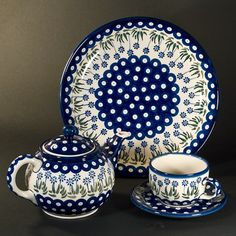 My husband rocks! :) - Polish Pottery!!!