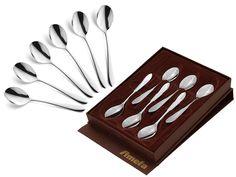 Łyżeczki do herbaty Amefa Chopin 8420 6 szt w pudełku stal 18/10 Tray, Origin, It, Trays, Board