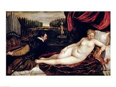 Venus and the Organist - Titian