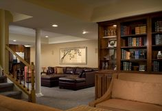 Every good home needs a basement.  You know, for bookshelves, a home theater, and, of course, tornado protection.