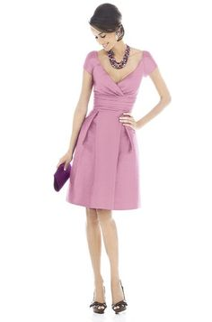 Alfred Sung D500 Bridesmaid Dress   Weddington Way This would be a pretty mother of the bride dress