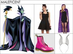 DIY costumes: How to Dress like Maleficent Diy Costumes, Halloween Costumes, Maleficent Costume, Rainbow Dash, Pumps, Heels, Disney Style, Christian Louboutin, Harem Pants