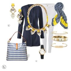 """""""Stella & Dot Spring 2016"""" by kmathews62 on Polyvore featuring 7 For All Mankind, CAbi, Stella & Dot, women's clothing, women, female, woman, misses and juniors"""