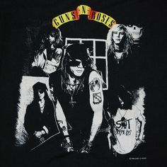 Guns N' Roses Vintage T-Shirt https://www.facebook.com/FromTheWaybackMachine/