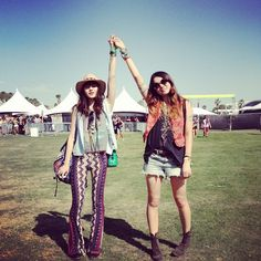 Coachella festival - Suárez Sisters