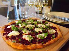 Makuja kotoa: Pohjoinen punajuuripizza
