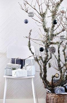 Quand la déco de Noël se la joue minimaliste...