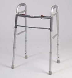 Folding Walker  This medical geriatric walker has a dual button to fold Weight capacity 300 pounds This functional lightweight aluminum walker is adjustable in 1 increments -- Locate the offer simply by clicking the VISIT button http://www.amazon.com/gp/product/B01ACQPHRM/?tag=buyamazon04b-20&pwz=260217222139