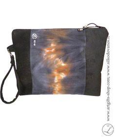hand-painted-silk-clutch-purse-bag-black-1