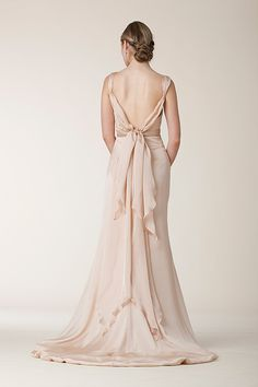 Silk Chiffon, Draped, Sheath - Hope | Designer Wedding Dresses | Amy Kuschel Bride | Couture Bridal Gowns | Clever Couture