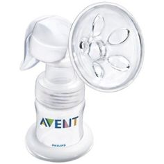 Philips AVENT BPA Free Manual Breast Pump. I have this manual pump for trips/alternative to electric pump (sometimes I respond better to the manual).