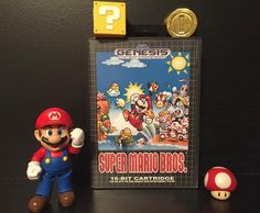 On instagram by toysaurus23 #segamegadrive #microhobbit (o) http://ift.tt/1Tr5Nuo picture tonight. Wait what is this? Mario on the Sega Genesis?!?! Damn straight! A port of the original Mario Bros that works on real sega hardware! Did I mention that I can make you a copy for your collection? DM me for pricing!#sega #segagenesis  #segacd #sega32x #segadoeswhatnintendont #blastprocessing #16bit #actionfigures #collector #segafanatic #vintagetoys #videogametoys #videogamefigures #90stoys #mario…