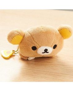 Rilakkuma Plushie Badge Lounging Dimension:approx.2.6 In X 3.5 In X 4.5 In
