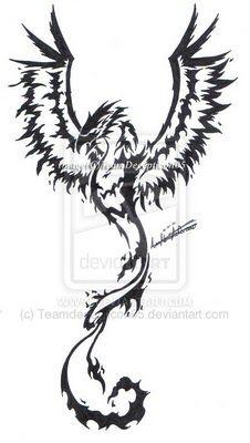 Phoenix tattoo designs for men | Like Tattoo