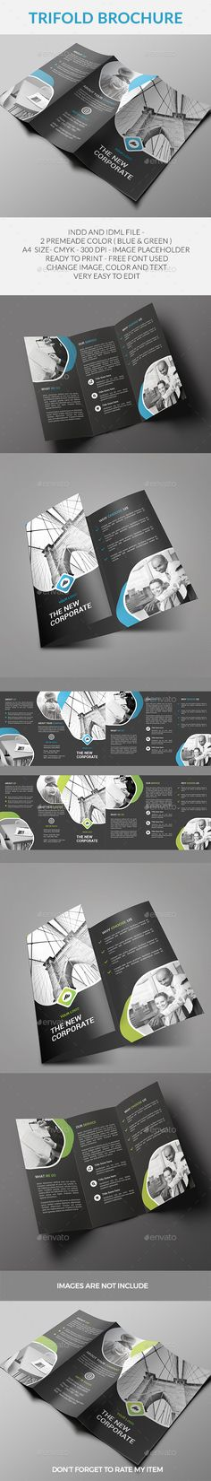 Trifold Brochure - Corporate Brochures Download here: https://graphicriver.net/item/trifold-brochure/20132128?https://graphicriver.net/item/brochure/19300045?ref=classicdesignp