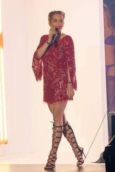 Rita Ora Performs in Sandaloots, Spring 2013's Biggest Shoe Trend: Let's Discuss