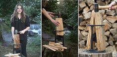 Firewood Kindling Splitter, Safe and Easy Kindling Maker