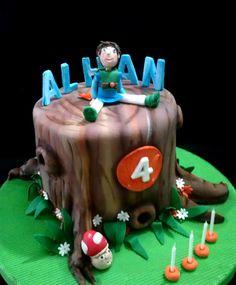 Tree fu tom Cake! ! Tortas de cumpleaños de los niños -