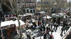 Siete mercadillos tradicionales de Madrid