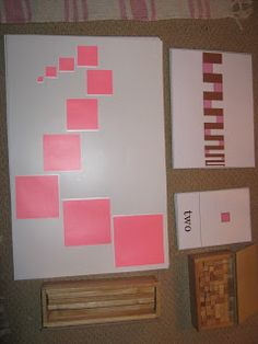 """""""Making Montessori Ours"""": The Broad or Brown Stair, Pink Tower & Extension work Montessori Theory, Montessori Preschool, Classroom Inspiration, Classroom Ideas, Montessori Materials, Teaching Kids, Activities For Kids, Homeschooling, Tower"""