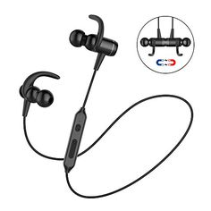 Bluetooth Headphones Charlemain Wireless Magnetic Earbuds Stereo Noise Cancelling Sweatproof InEar Earphones Gym Running Workout Sports Headsets with Mic for iPhone 7 Plus Samsung Galaxy S7 S8 >>> Visit the image link more details. Note: It's an affiliate link to Amazon