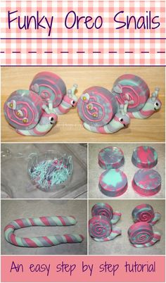 Tutorial Chocolate Snail Oreos - As psychdelic as they are delicous! Step by step instructions. from Cake Pop Creations