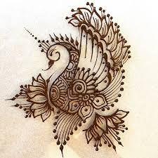 #Mehndi #Peacock #Lotus