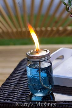 How to Make Your Own Citronella Candles