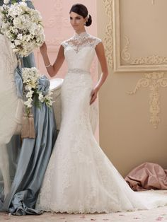 David Tutera - Everly - 115227 - All Dressed Up, Bridal Gown