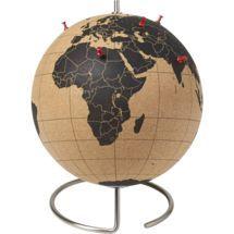 cork globe by CB2