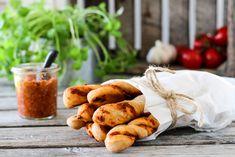 Pesto, Recipies, Stuffed Mushrooms, Snacks, Chicken, Baking, Vegetables, Image, Recipes