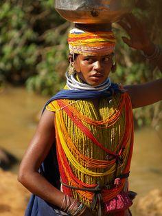 Bondas Lady. Orissa, India