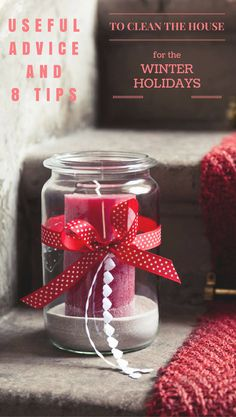 Christmas cleanliness is not a mere necessity, but part of the traditional ritual that you are ready to encounter as befits the winter holidays.