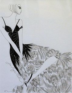 "Jane Ryan ""Black Fringe""  #hautecouture #indianink #art #drawing #painting #blackandwhite #DukeStreetGallery Street Gallery, Ink Pen Drawings, Vogue Australia, Fashion Illustrations, Textile Design, Painting, Artist, Image, Black"