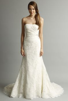 Another stunning lace gown from Alyne by Rivini's spring 2013 collection.