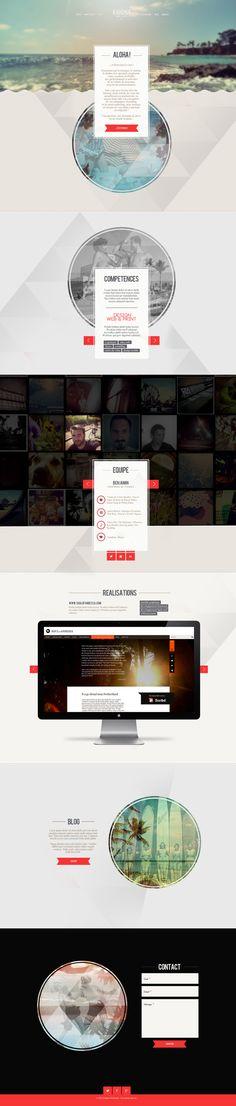 Web | Kahuna Webstudio Identity on Behance
