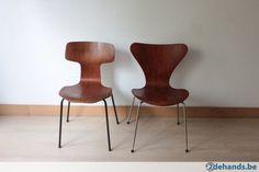 Vintache stoelen Jacobsen