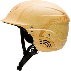 faux bois helmet - a bike helmet like this would make me very happy - better yet - an acorn top!