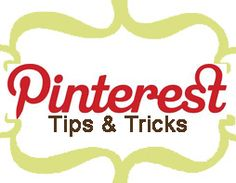 Pinterest Tips and Tricks | Cooking & Living It Up On A Ground Beef Budget