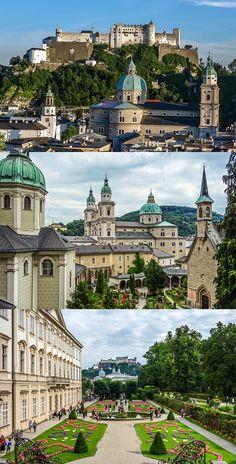 Beautiful Salzburg on a cloudy day. We <3 Salzburg.