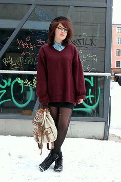 Pullover, Backpack (Diy), Dress Shirt