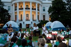 The First Lady Hosts the First-Ever White House Campout with Let's Move!