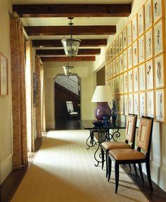 Jan showers portfolio interiors modern traditional contemporary transitional hallway foyer